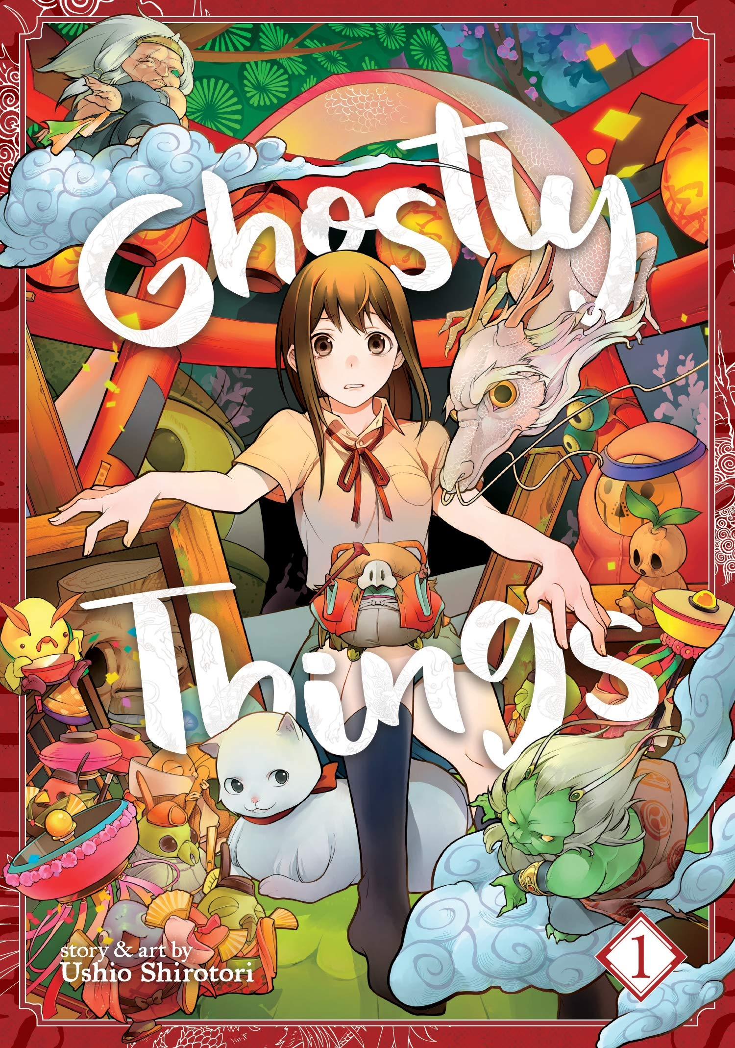 مانجا Ghostly Things تنتهي قريبًا..