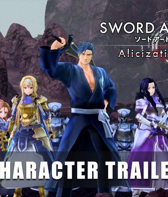 شاهد العرض التشويقي الجديد للعبة SAO Alicization Lycoris !