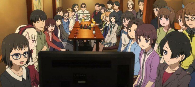 يبدو أن الناس تستطيع التجمع لمشاهدة الأنمي في الحظر!