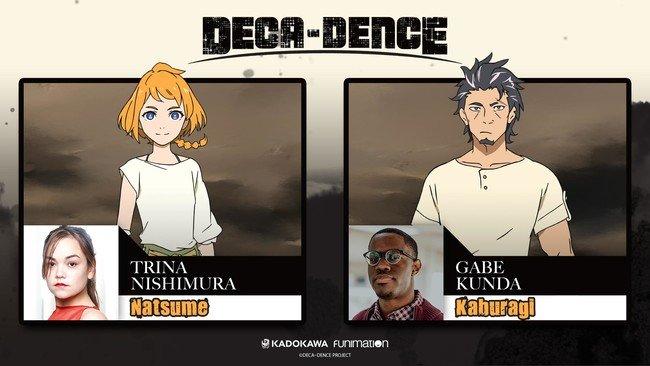 شركة Funimation تُعلن عن فريق دبلجة Deca-Dence للإنجليزية!