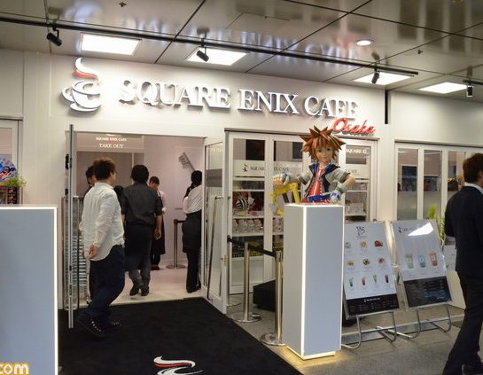 مقهى Square Enix في أوساكا يُغلق بسبب اكتشاف حالة كورونا !