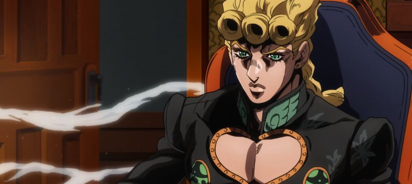 الآن JoJo's Bizarre Adventure: Golden Wind متاح بلوراي!