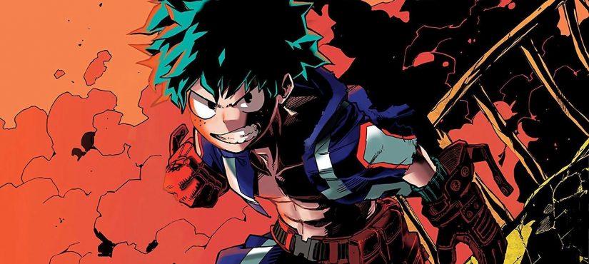 مانجا My Hero Academia تحتل قوائم نيورويك تايمز!