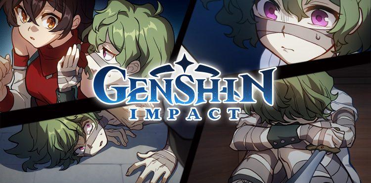 هل تعلم أن للعبة Genshin Impact .. مانجا ملونة؟!