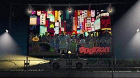 تعرف على الأنمي الجديد (والغريب جدًا): Odd Taxi !