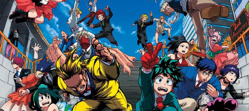 مانجا Boku No Hero Academia تتصدر قوائم الولايات المتحدة ليناير!