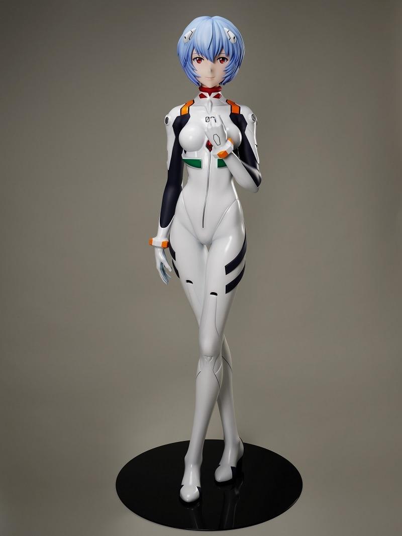 احتفالًا بصدور فيلم Evangelion الأخير، إليكم مجسمًا جديدًا لراي (بالحجم الطبيعي)!