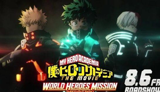 إليكم استعراض الفيلم الثالث لأنمي Boku no Hero Academia !