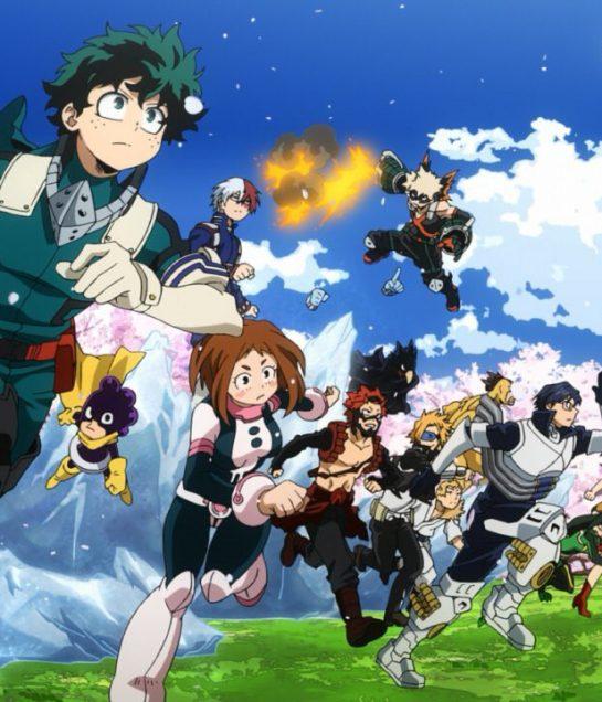 هنا يمكنك مشاهدة الموسم الخامس من Boku no Hero Academia !
