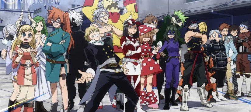 عرض جديد للموسم الخامس من أنمي Boku no Hero Academia !!