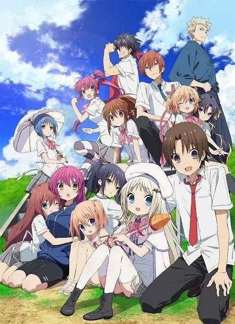 إليكم العرض التشويقي الأول لفيلم الأنمي Little Busters!