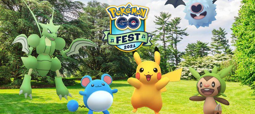 احتفالية Pokemon Go تعود في 2021 !