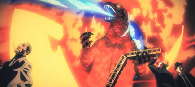 شاهدوا شارتيّ بداية ونهاية أنمي Godzilla Singular Point !
