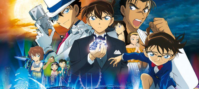 مانجا Detective Conan: The Fist of Blue Sapphire تنتهي قريبًا..