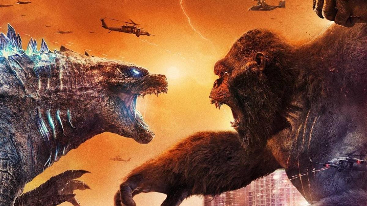 إليكم آخر نجاحات فيلم Godzilla vs. Kong في شباك التذاكر!