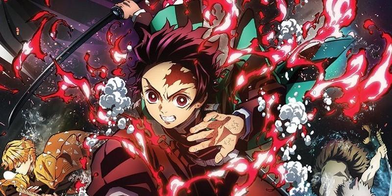 نجاحات مذهلة لفيلم Demon Slayer خارج اليابان