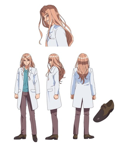 الكتشف عن شخصيات جديدة لأنمي Pale Blue Dot Battle Athletes Daiundōkai ReSTART!