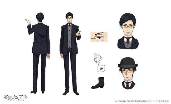 أنمي Yuukoku no Moriarty يكشف عن المزيد من أفراد طاقم عمل الموسم الثاني!