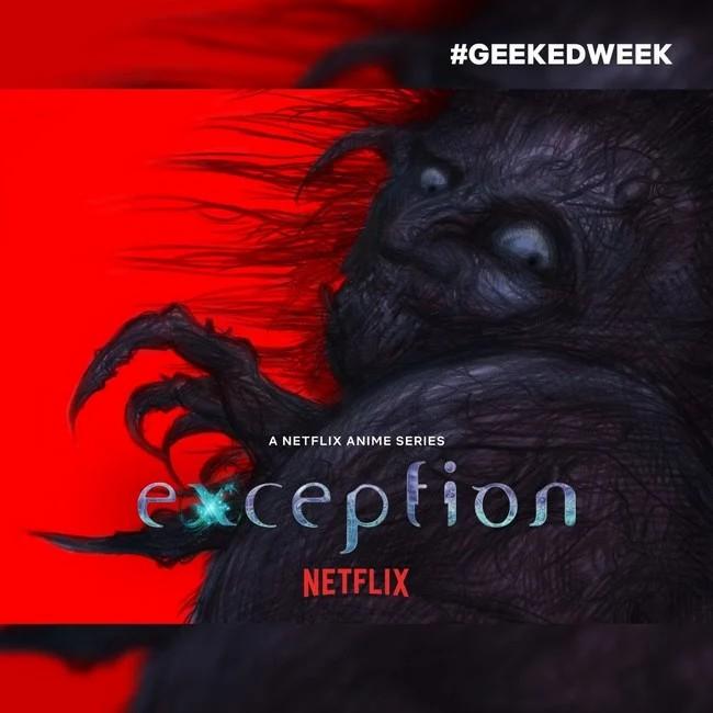 تعرفوا على أنمي الرعب القادم على نيتفليكس: Exception !