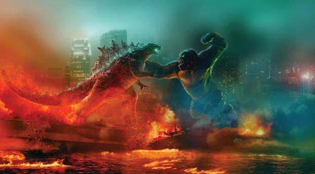 فيلم Godzilla vs. Kong يحقق نجاحات عالمية من جديد!