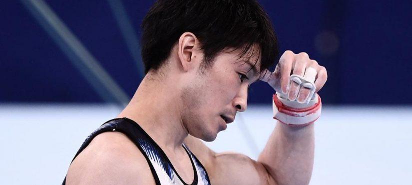بطل الجمباز الياباني يحرج البلاد في أوليمبياد طوكيو 2020!