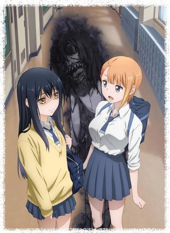 لنتعرف سويًّا على أنمي Mieruko-chan القادم قريبًا!
