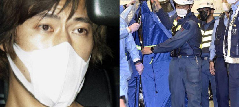 الإعلان عن هوية مجرم حادثة طعن القطار الياباني!