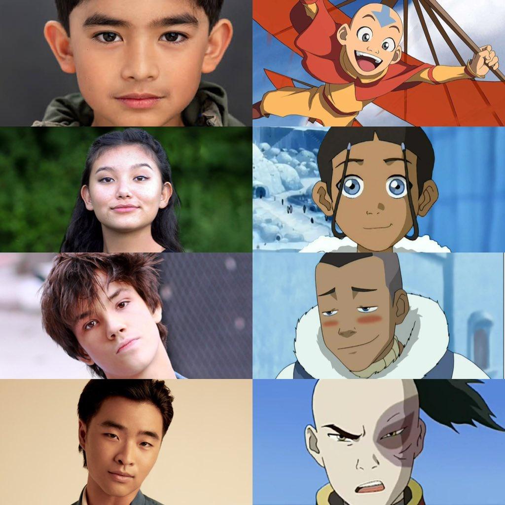 تعرفوا على أبطال الفيلم الحي الجديد لأنميشن Avatar: The Last Airbender !