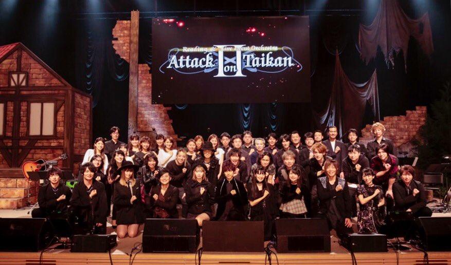 أوركيسترا Attack on Titan تُذاع خارج اليابان قريبًا!