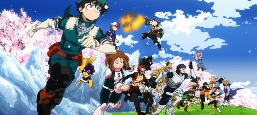 إليكم أحدث الملصقات الترويجية لأحدث أعمال Boku no Hero Academia !