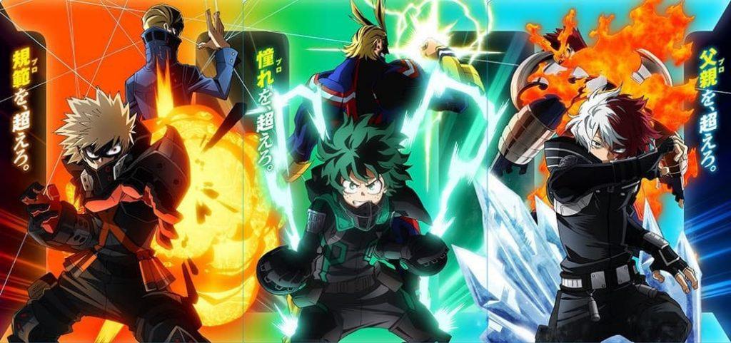 فيلم My Hero Academia: World Heroes يحقق النجاحات في شباك التذاكر!