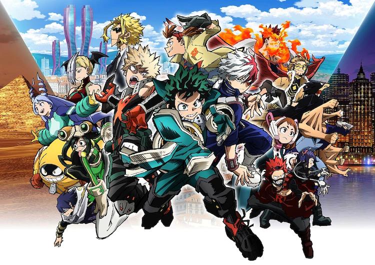 إليكم آخر نجاحات فيلم Boku no Hero Academia الثالث!