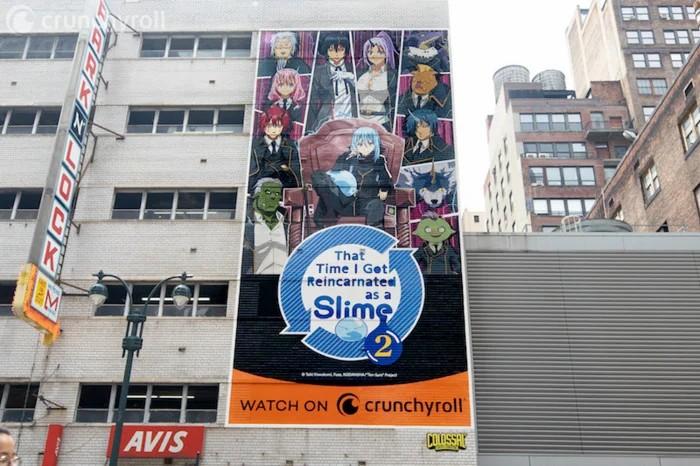 رسم جداري رائع لأنمي Tensei shitara Slime Datta Ken في الولايات المتحدة!