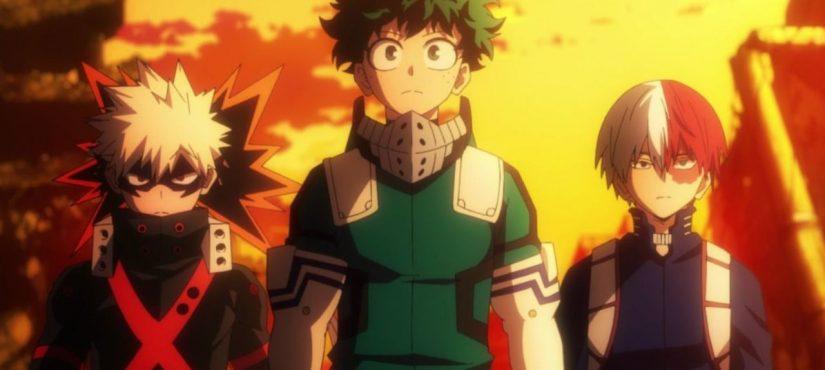 لنشاهد سويًّا أحدث ملصقات الموسم الخامس من أنمي Boku no Hero Academia !