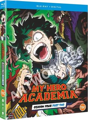 حسنًا... هذا  خبر غير لطيف لمنتظري بلوراي Boku no Hero Academia...