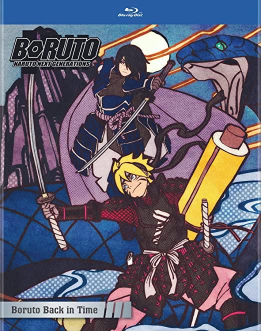 صدور بلوراي Boruto: Naruto Next Generations - Boruto Back in Time أخيرًا!